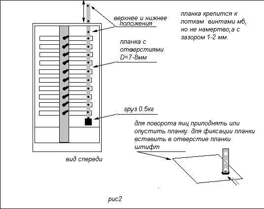 Схема инкубатора - 2