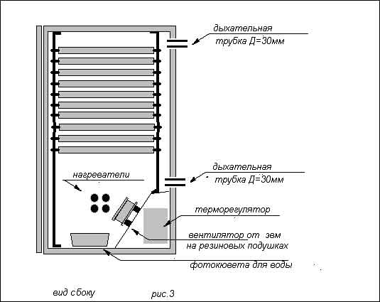 Схема инкубатора - 3