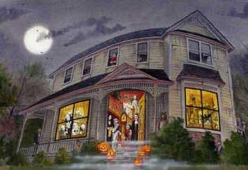 Дом в картине-1