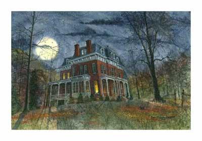 Дом в картине-2