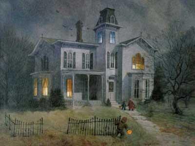 Дом в картине-3