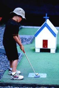Мини-гольф для детей