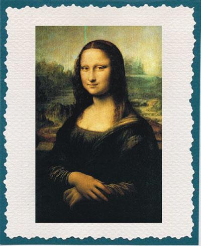 Батик-3 - Мона Лиза