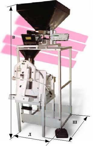 Аппарат для фасовки и упаковки сыпучих продуктов