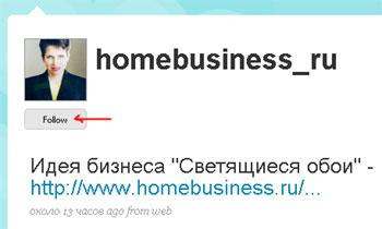 Twitter.com от homebusiness.ru