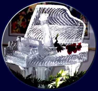 Скульптуры изо льда-2