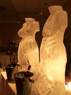 Скульптуры изо льда-3