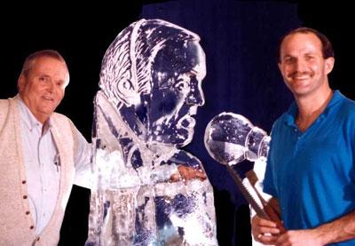 Скульптуры изо льда-8