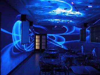 3D дизайн интерьеров - вид ночью