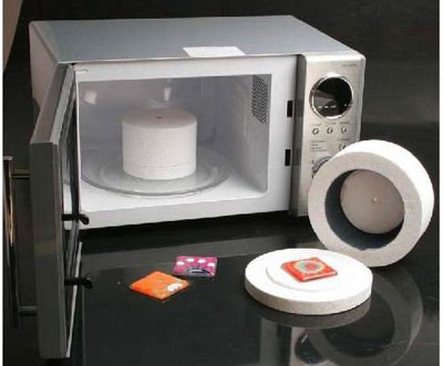 Микроволновка с чудо-контейнером