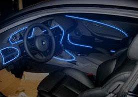 Холодный неон в автомобиле-1