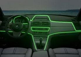 Холодный неон в автомобиле-2