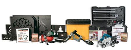Набор инструментов для гравировки по бетону-2