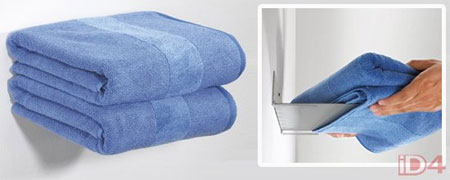 Невидимая полка для ванной комнаты