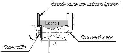 Изготовление вазы по шаблону на станке