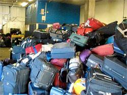 Ремонт чемоданов, брошенных в аэропорту