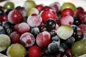 Глубокая заморозка ягод и фруктов