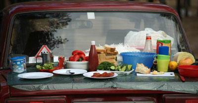 Пикник на автомобиле