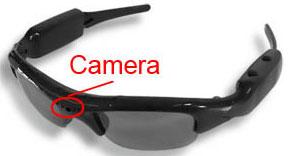 Видеокамера, встроенная в очки
