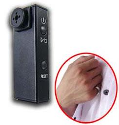 Скрытая камера в виде пуговицы