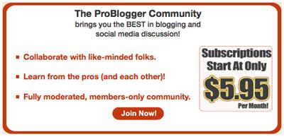 Платный доступ на форум problogger.com Даррена Рауса