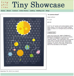 Сайт Tiny Showcase