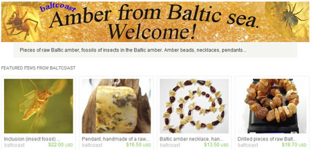 Изделия из янтаря, пользующиеся спросом на etsy.com