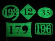 Светящиеся квартирные номерные таблички