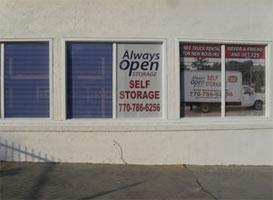 Камеры хранения Always Open Storage в Ковингтоне
