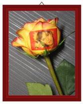 Нанесение изображения на цветы