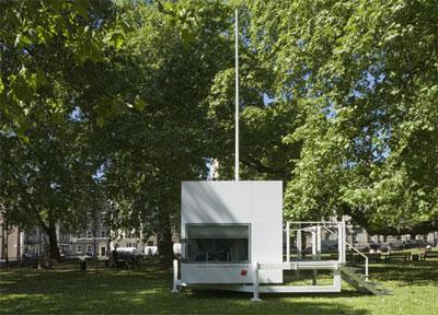 Мобильный дом площадью 7 квадратных метров