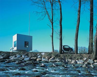 Мобильный мини дом на природе