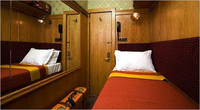 Крошечная комната в отеле Jane Hotel, Нью-Йорк