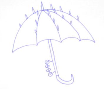 Бронированный зонтик