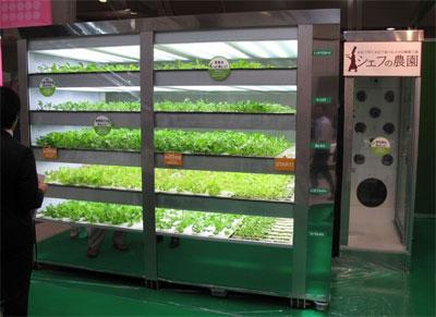 японский шкаф огород для ресторанов