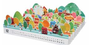 Объемная модель города из бумаги