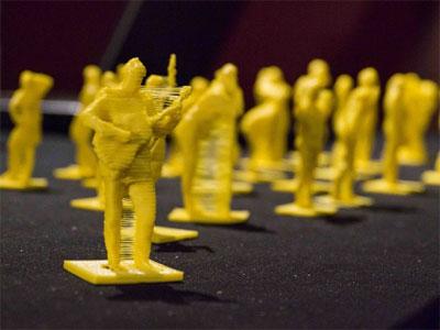 Персонализированные фигурки, сделанные на 3D принтере