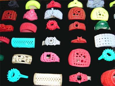 Ювелирные изделия, сделанные на 3D принтере