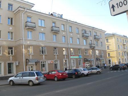 Оскопленные балконы на ул.Ленина в городе Саров