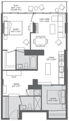 Объединение двух квартир в одну