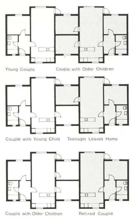 Трансформация двух квартир