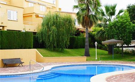 Общий вид дома в Испании