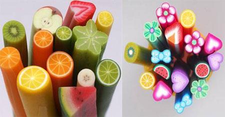 Пластиковые стержни для дизайна ногтей