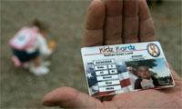 Изготовление детских идентификационных карточек