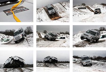 Land Rover Experience в Ленинградской области
