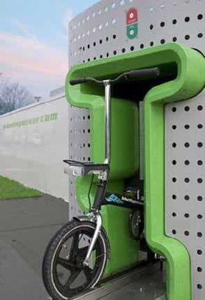 Вендинговая машина по сдаче велосипедов в прокат