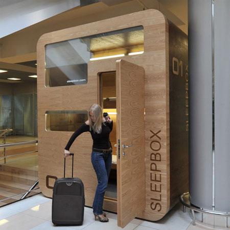 Первый Sleepbox в аэропорту Шереметьево