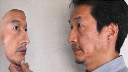 3D маска неотличима от реального лица человека