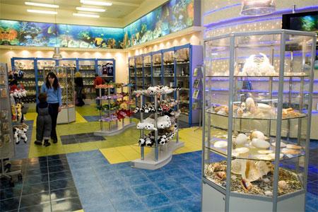Магазин сувениров при Санкт-Петербургском Океанариуме