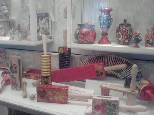 Музыкальные игрушки Саровского музея игрушки
